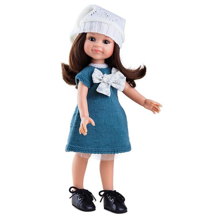 Кукла Клео, 32 смИспанские куклы Paola Reina (Паола Рейна)<br>Кукла Клео, 32 см<br>