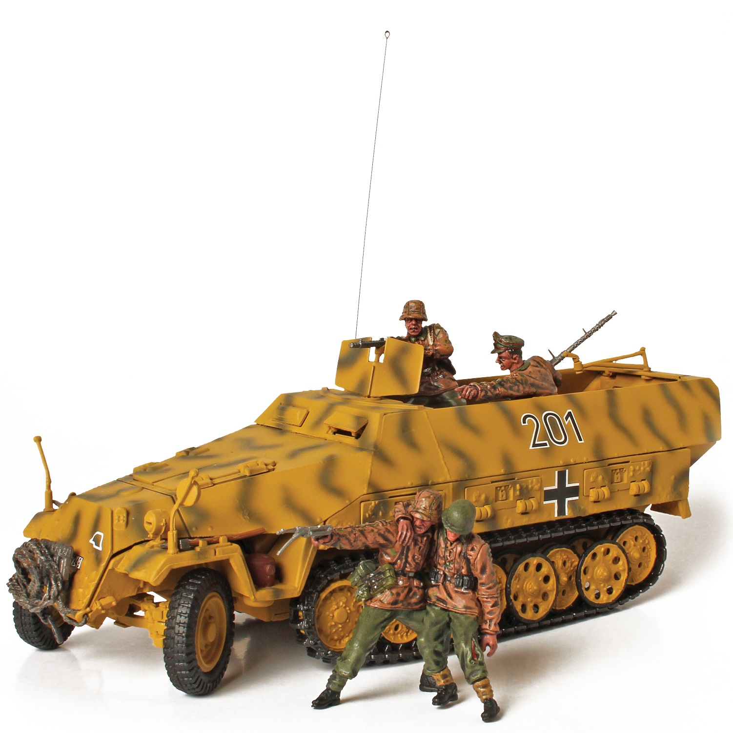 Коллекционная модель - немецкий бронетранспортер Sd. Kfz. 251/1 Hanomag, Литва, 1944, 1:32Военная техника<br>Коллекционная модель - немецкий бронетранспортер Sd. Kfz. 251/1 Hanomag, Литва, 1944, 1:32<br>