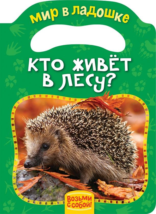 Купить Книжка-игрушка - Кто живет в лесу?, Росмэн