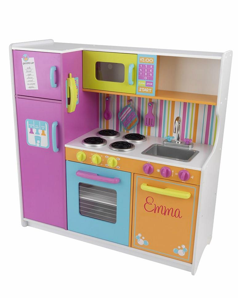 Купить Большая детская игровая кухня Deluxe Big & Bright Kitchen, KidKraft
