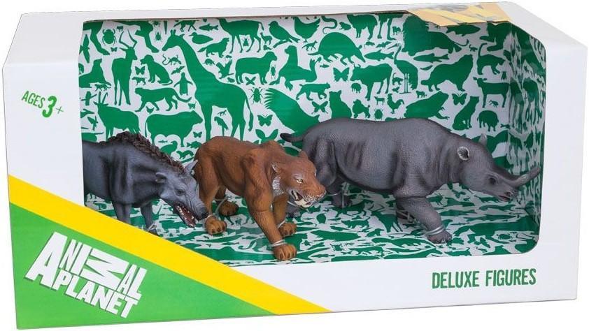 Набор Animal Planet - Доисторические животные, 3 штукиДикая природа (Wildlife)<br>Набор Animal Planet - Доисторические животные, 3 штуки<br>