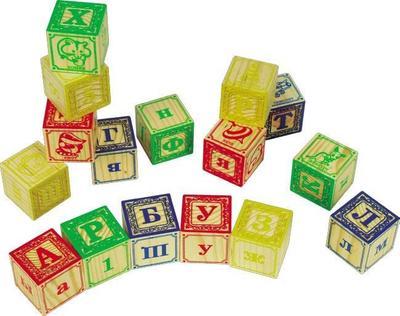 Мир деревянных игрушек Кубики 2