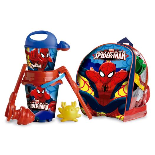 Песочный набор Спайдермен в рюкзакеВсе для песочницы<br>Песочный набор Спайдермен в рюкзаке<br>