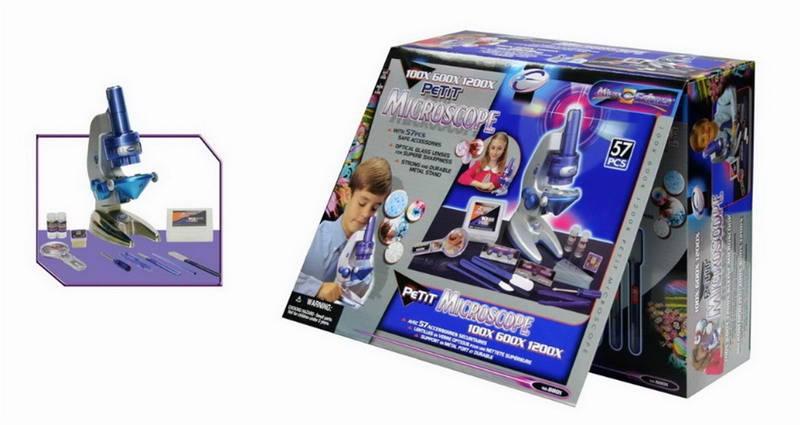 Купить Набор для опытов с мини микроскопом, 57 предметов, Eastcolight
