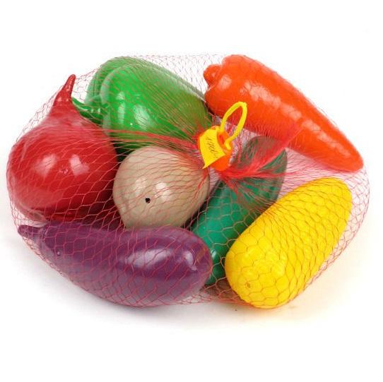 Игровой набор. Овощи в сеткеАксессуары и техника для детской кухни<br>Игровой набор. Овощи в сетке<br>