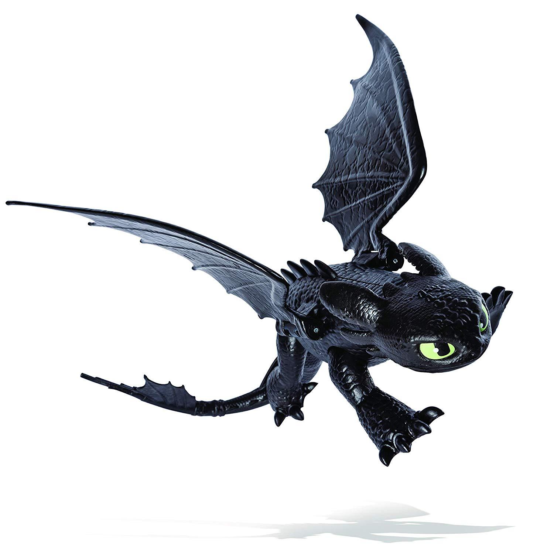 Купить Фигурка Как приручить дракона-3 с подвижными крыльями - Беззубик, Spin Master