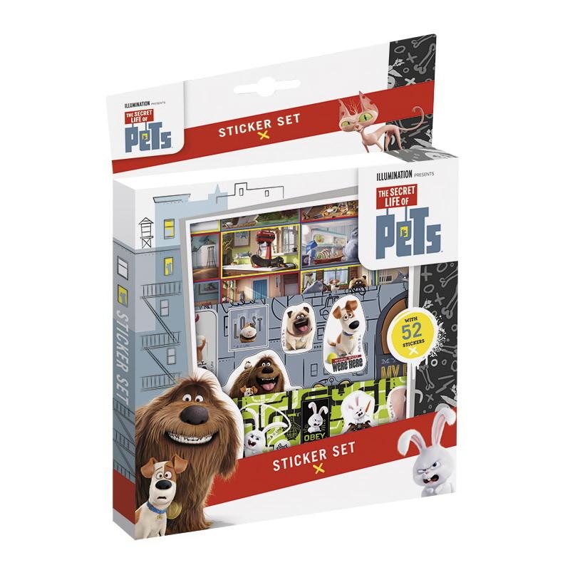 Купить Набор для творчества The Secret Life of Pets – Наклейки, Totum
