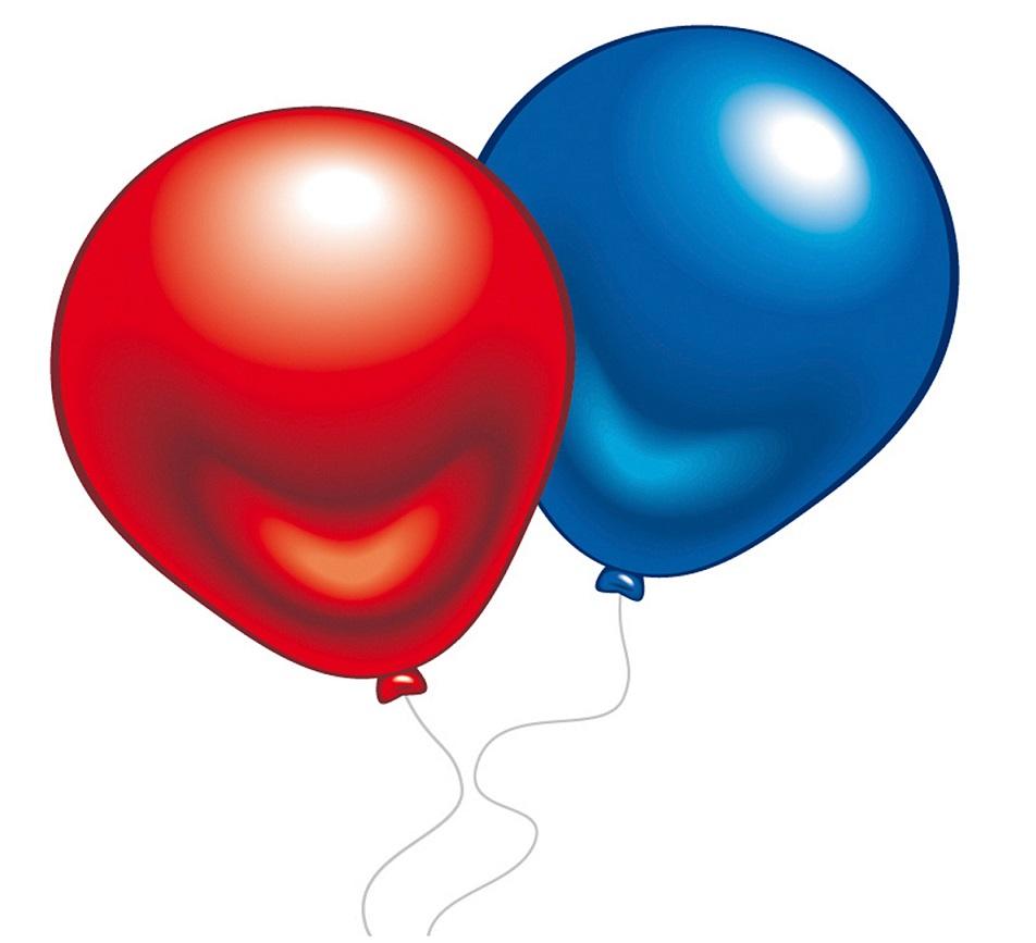 Everts Набор из 10 разноцветных шариков с металлическим отливом