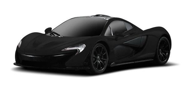 картинка Машина на р/у – McLaren P1, 1:24, черный от магазина Bebikam.ru