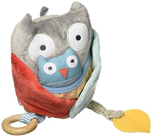 Развивающая игрушка Сова с совенкомДетские погремушки и подвесные игрушки на кроватку<br>Развивающая игрушка Сова с совенком<br>
