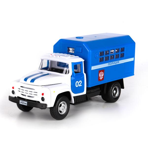 Инерционная машина ЗИЛ 130 – Полиция, 20 см, свет, звукПолицейские машины<br>Инерционная машина ЗИЛ 130 – Полиция, 20 см, свет, звук<br>