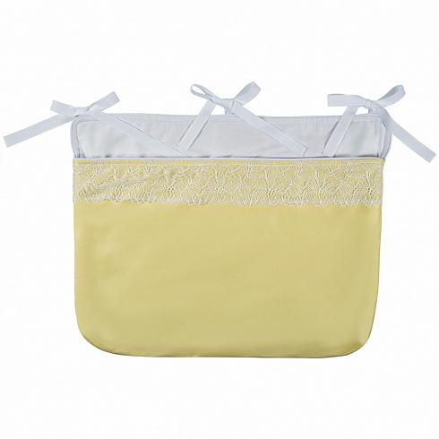 Сумка навесная Chepe for Nuovita Tenerezza / Нежность, бело-желтый