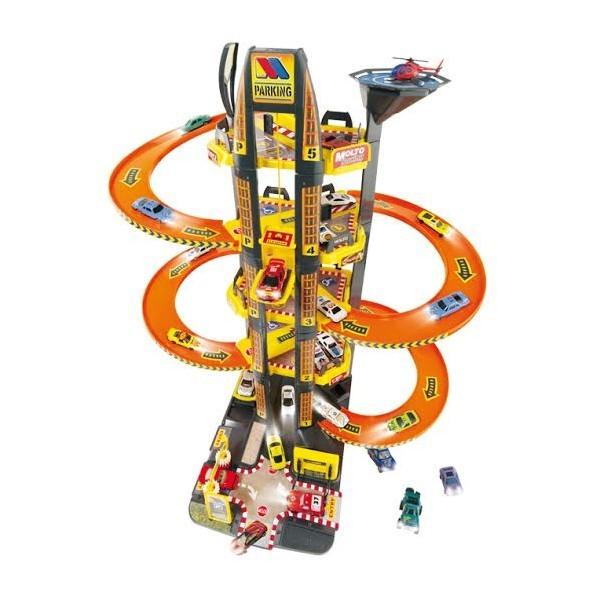 Купить Игровой набор – Парковка с вертолетом, 5 уровней, MOLTO