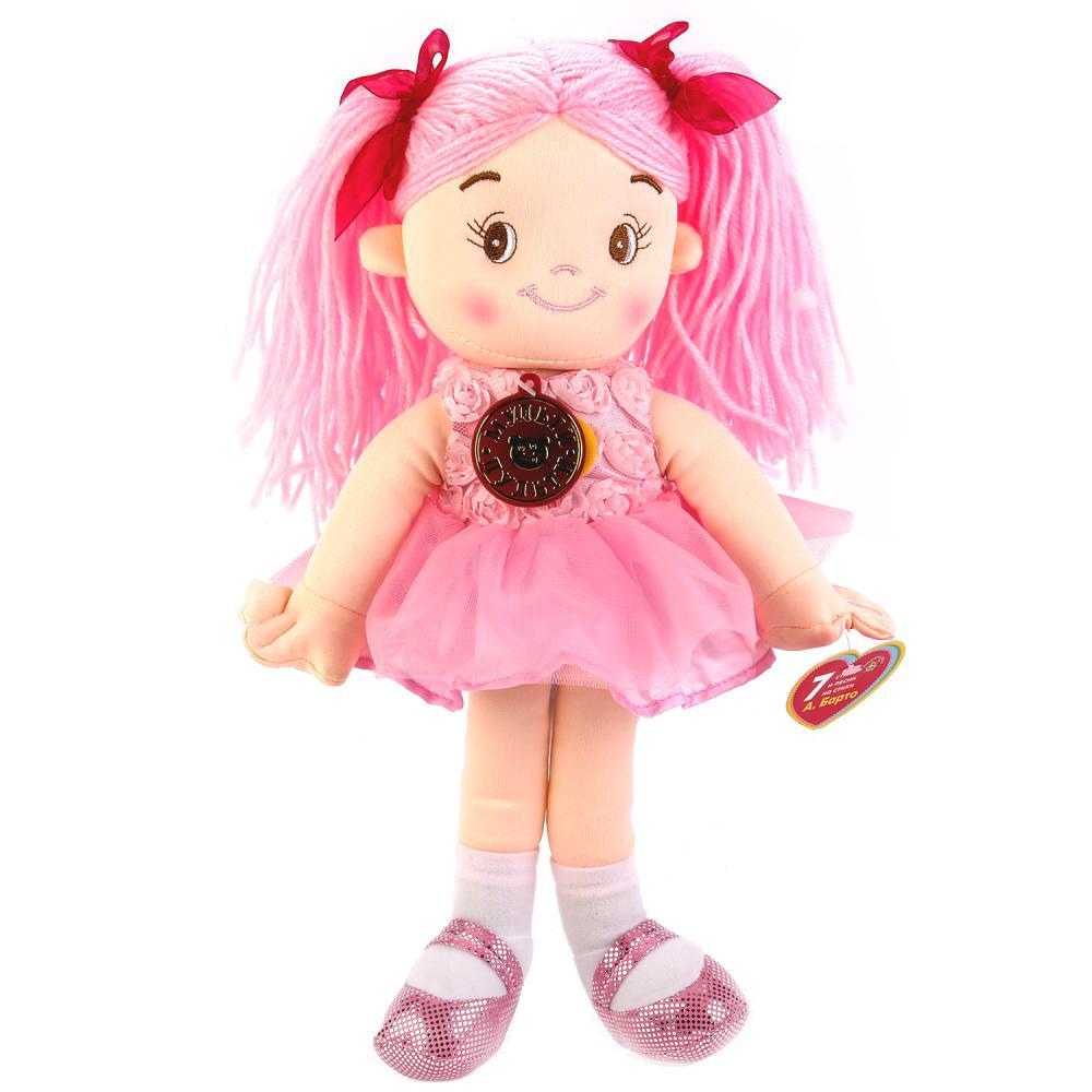 Купить Музыкальная мягкая кукла 35 см, стихи и песенки на стихи А. Барто, Мульти-Пульти