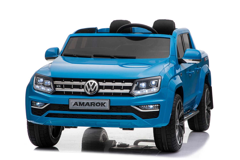 Купить Электромобиль - Volkswagen Amarok, синий, свет и звук, ToyLand