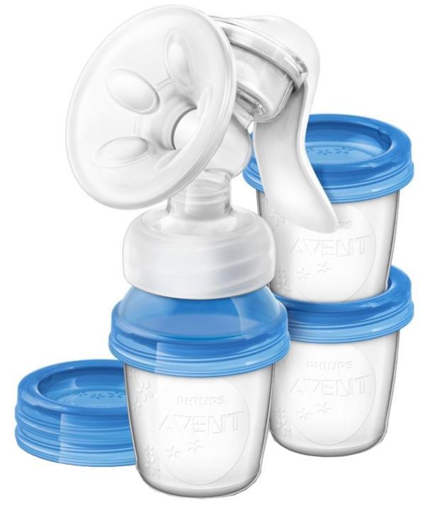 Молокоотсос ручной с принадлежностями. Серия Natural SCF330/13 - Товары для мамы, артикул: 162695