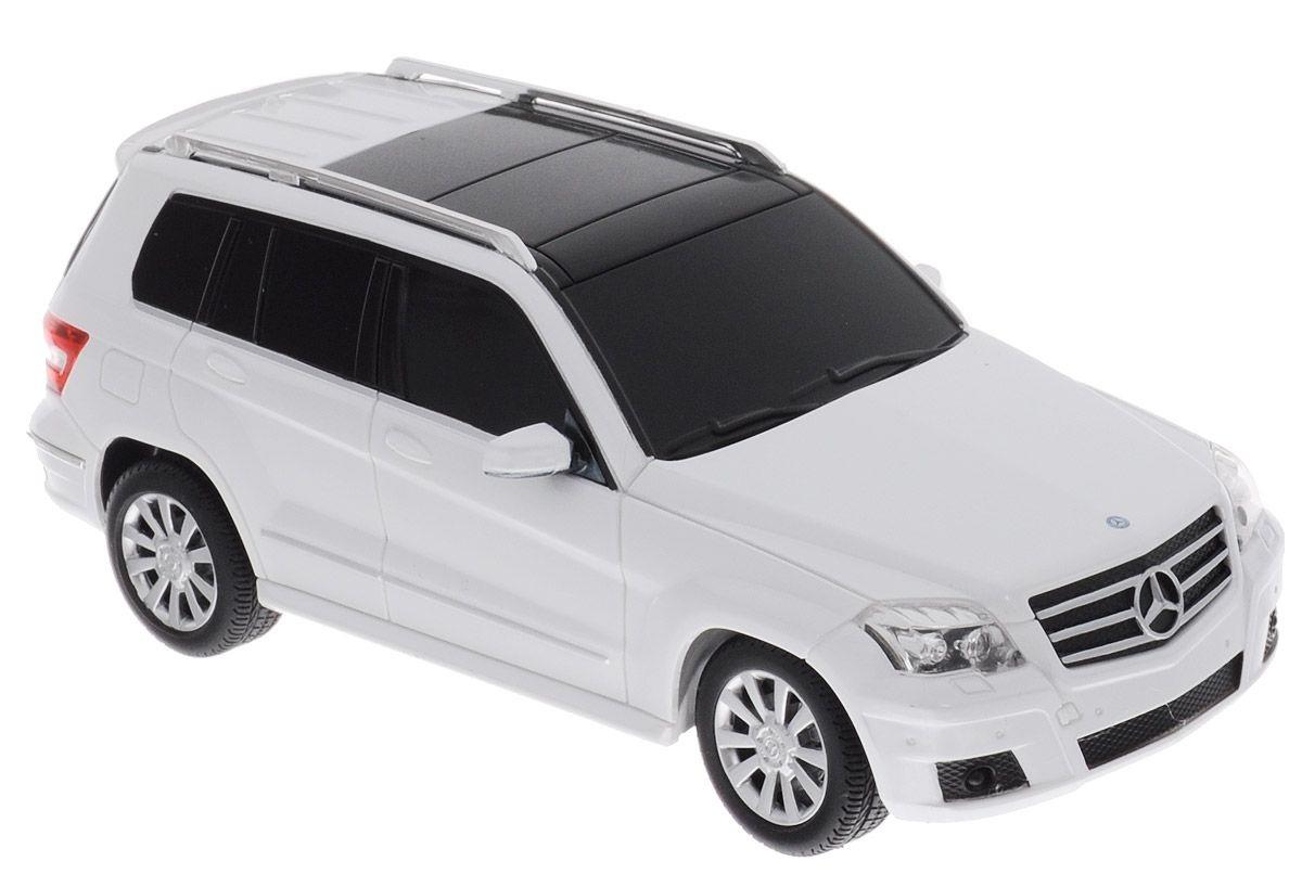 картинка Машина на р/у - Mercedes GLK, цвет белый, 1:24 от магазина Bebikam.ru