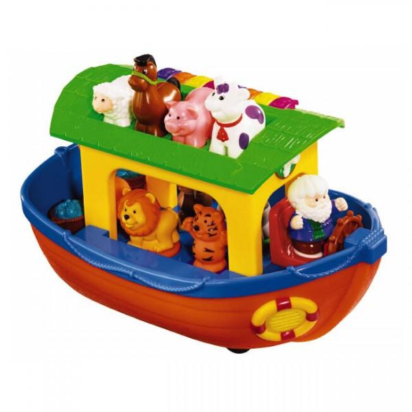 Интерактивная развивающая игрушка Ноев ковчег Kiddieland, KID 049734 фото