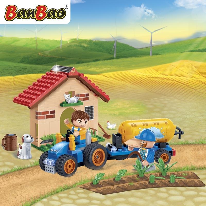Конструктор Фермерский домик, 185 деталейКонструкторы BANBAO<br>Конструктор Фермерский домик, 185 деталей<br>