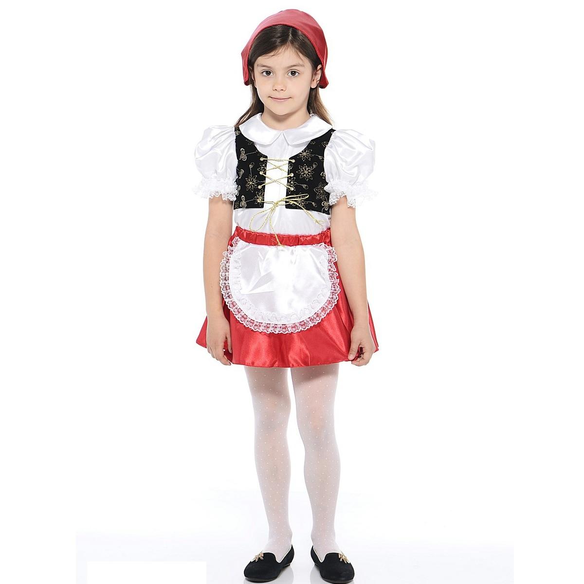 Карнавальный костюм – Красная шапочка, размер 26Карнавальные костюмы<br>Карнавальный костюм – Красная шапочка, размер 26<br>