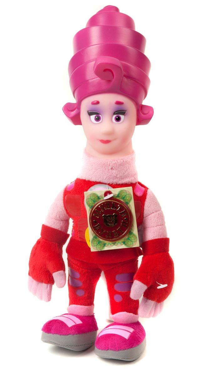 Озвученная мягкая игрушка - Мася из мультфильма – Фиксики, 29 см., свет