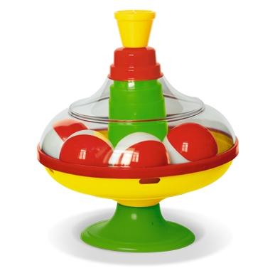 Купить со скидкой Юла с шариками, диаметр 14 см