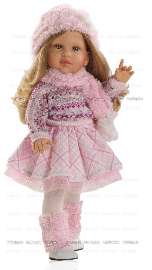 Кукла Одри, 40 смИспанские куклы Paola Reina (Паола Рейна)<br>Кукла Одри, 40 см<br>