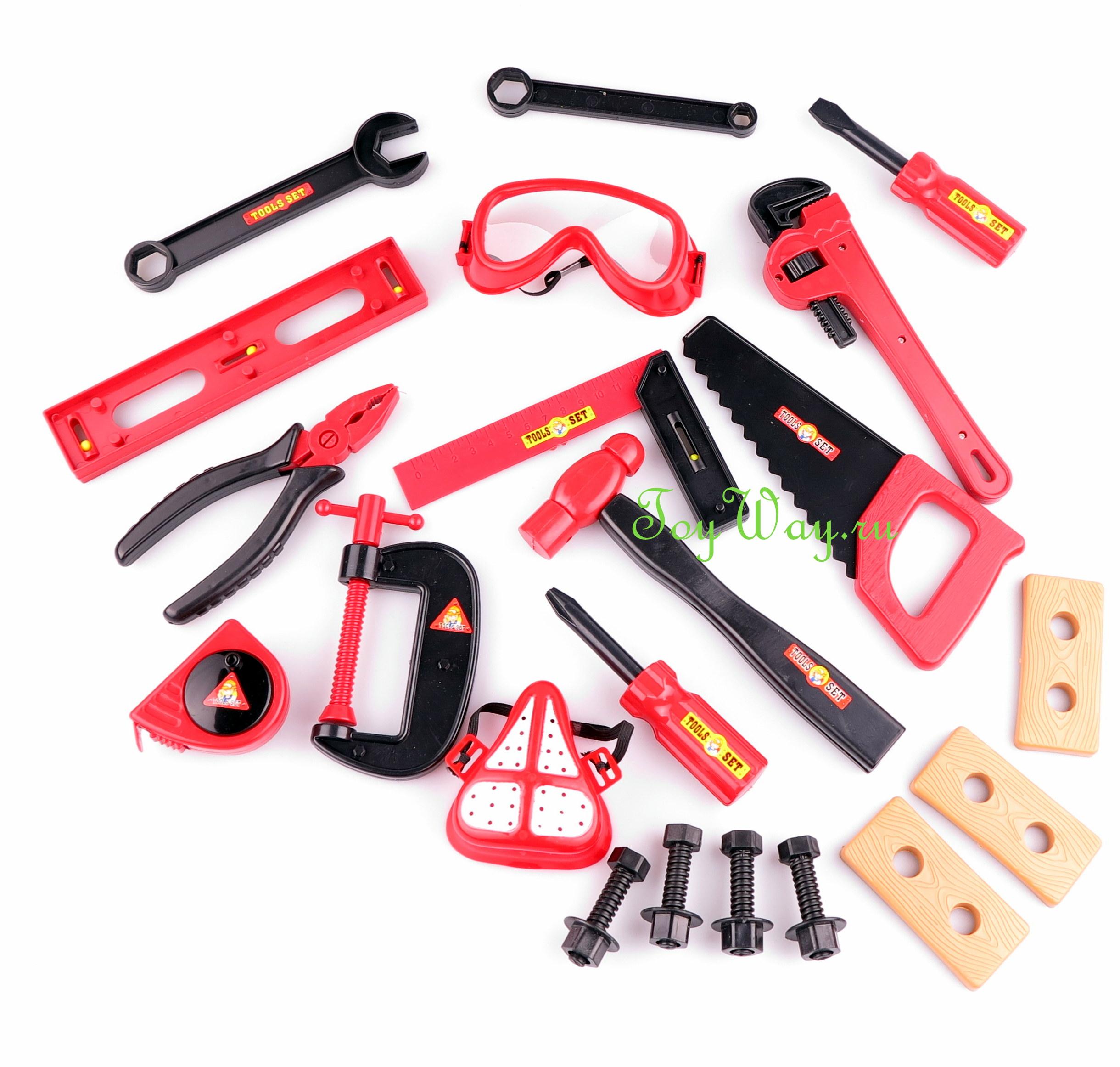 Большой набор инструментовДетские мастерские, инструменты<br>Большой набор инструментов<br>