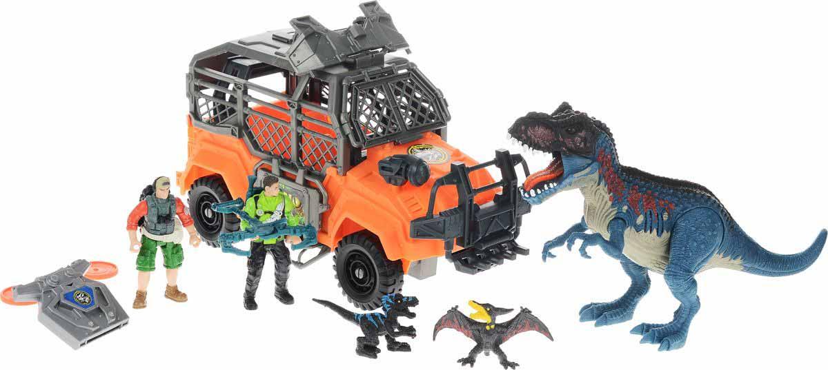 Набор - Большая охота на Тираннозавра, звукЖизнь динозавров (Prehistoric)<br>Набор - Большая охота на Тираннозавра, звук<br>