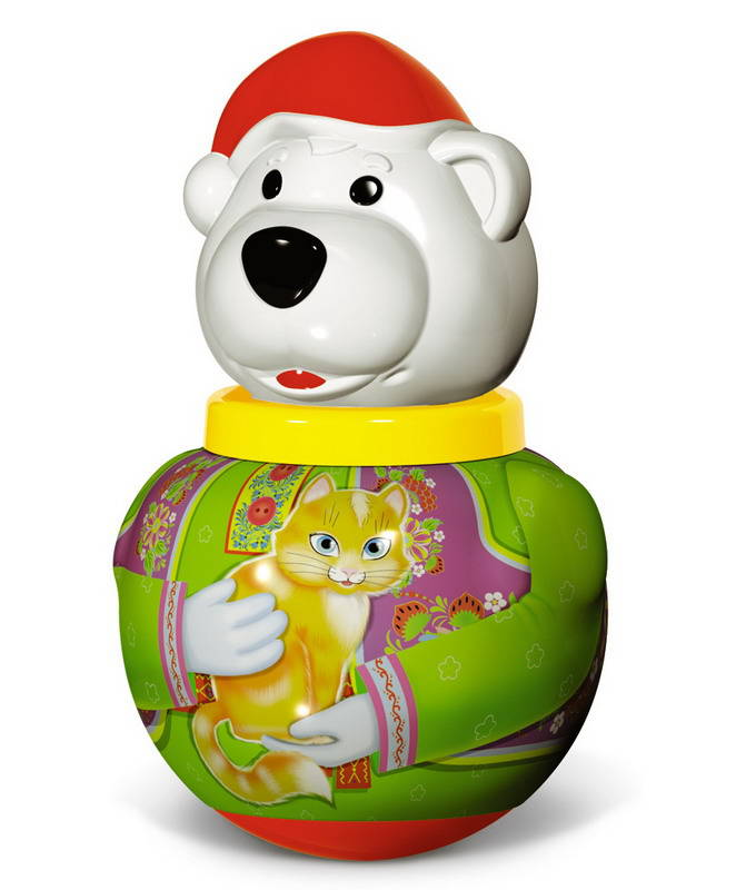 Малая неваляшка - Белый медведь Борис