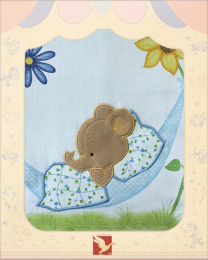 Постельное белье Сладкий сон, 3 предмета, голубоеДетское постельное белье<br>Постельное белье Сладкий сон, 3 предмета, голубое<br>