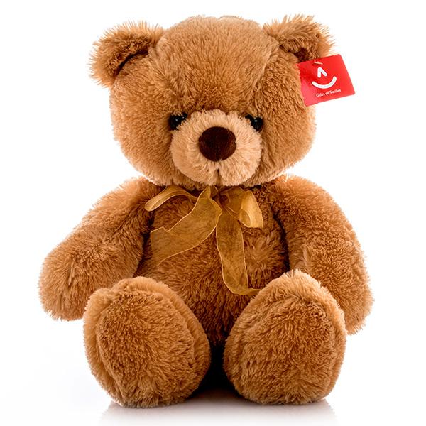 Мягкая игрушка Медведь с бантиком, 46 см.Медведи<br>Мягкая игрушка Медведь с бантиком, 46 см.<br>