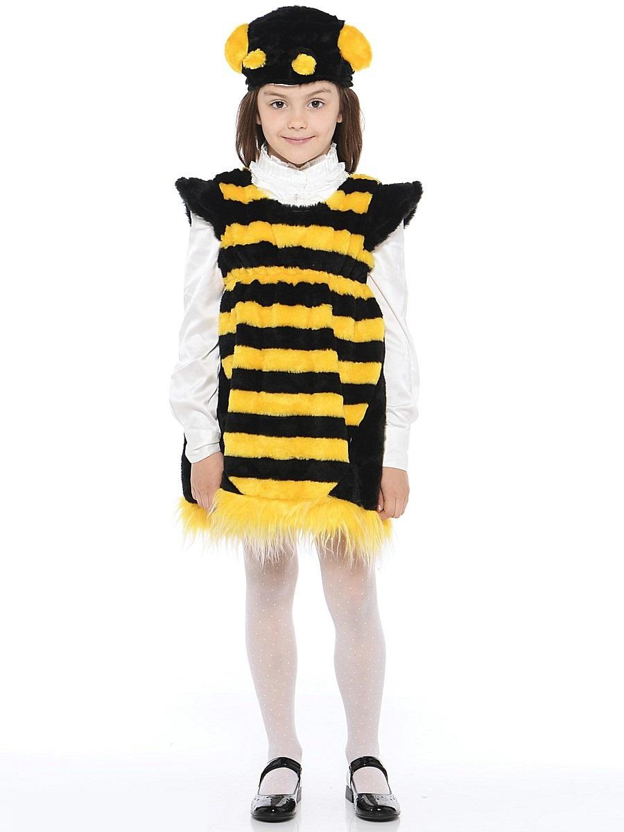 Костюм карнавальный детский - Пчелка из меха, размер 28Карнавальные костюмы<br>Костюм карнавальный детский - Пчелка из меха, размер 28<br>