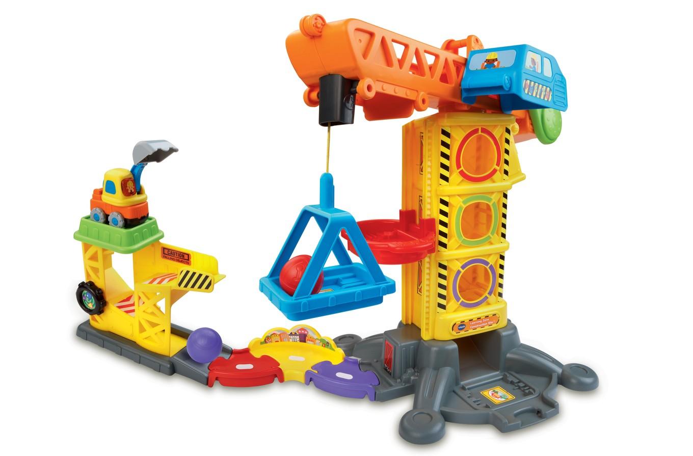 Игровой набор Бип-Бип - Строительная площадкаМашинки для малышей<br>Игровой набор Бип-Бип - Строительная площадка<br>