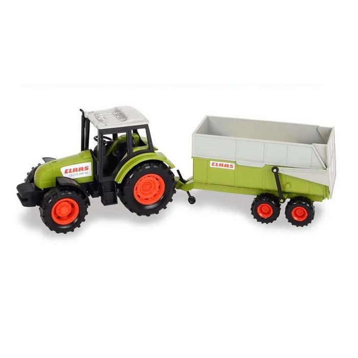 Трактор с прицепом, 38 смИгрушечные тракторы<br>Трактор с прицепом, 38 см<br>