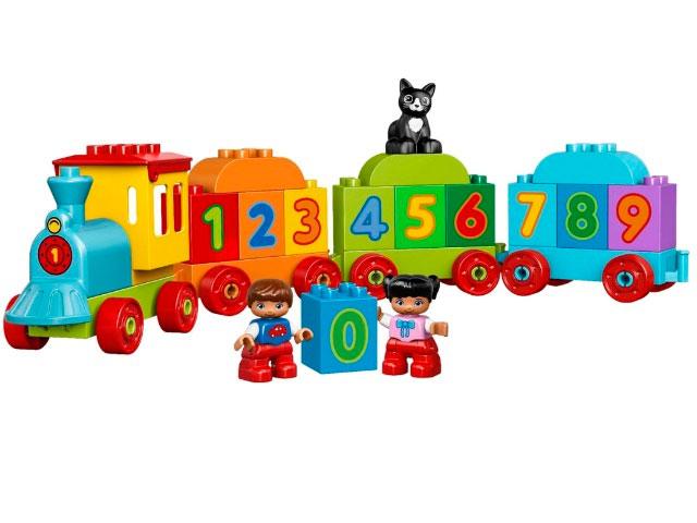 LEGO Duplo. Поезд: считай и играй