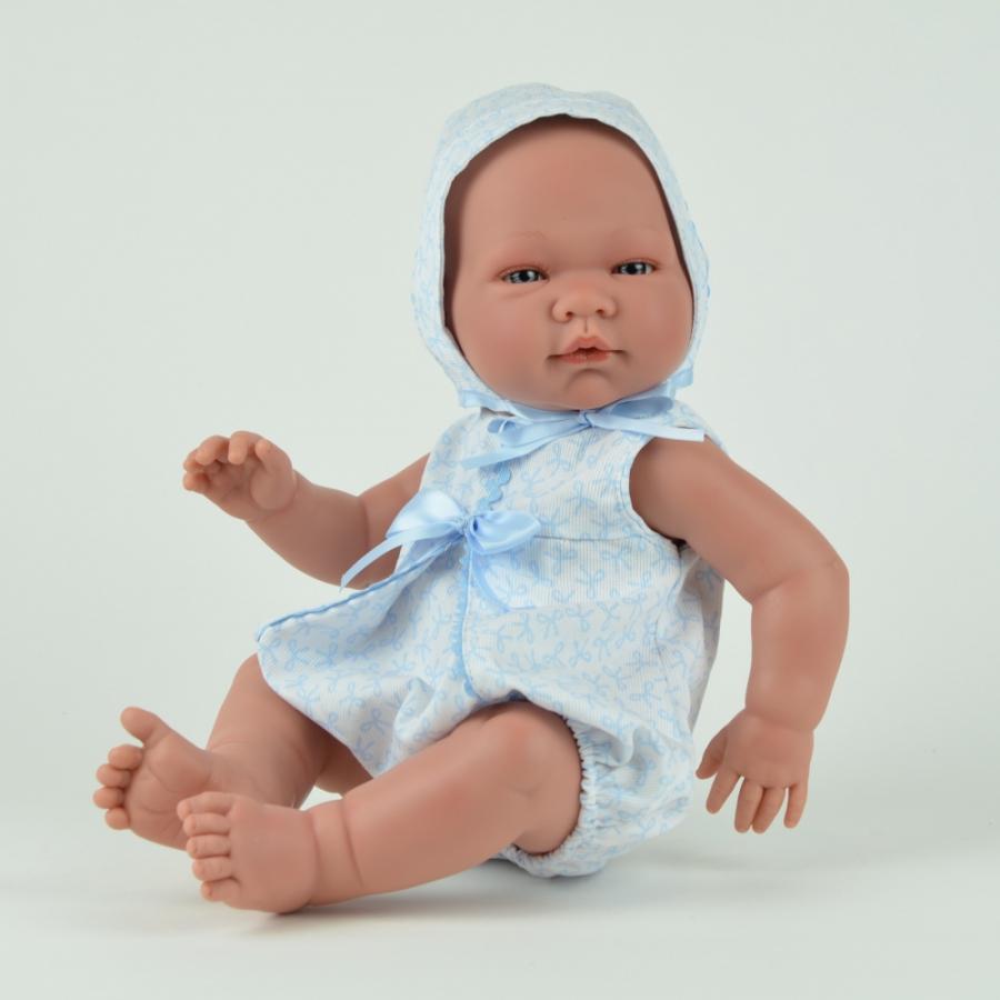 Кукла Пабло в голубом комбинезоне, 45 см.Куклы ASI (Испания)<br>Кукла Пабло в голубом комбинезоне, 45 см.<br>