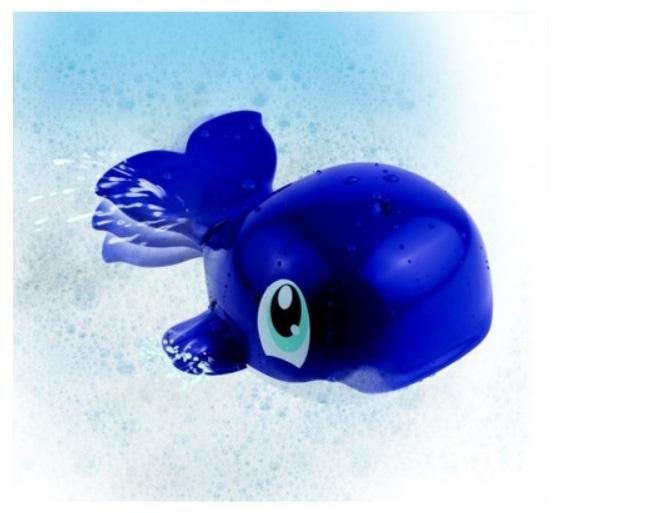 Игрушка для купания – Водоплавающие - Синий китИнтерактивные игрушки для ванны<br>Игрушка для купания – Водоплавающие - Синий кит<br>