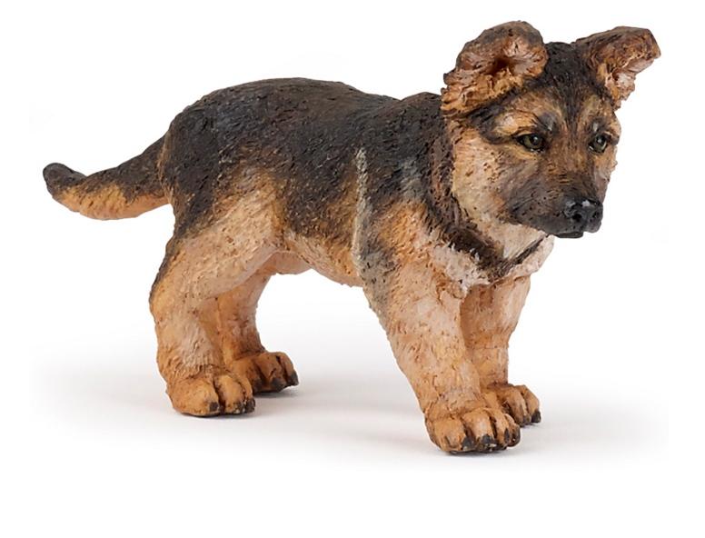 Фигурка - Щенок немецкой овчаркиСобаки и щенки (Dogs &amp; Puppies)<br>Фигурка - Щенок немецкой овчарки<br>
