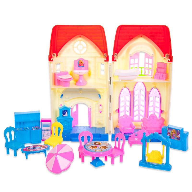 Дом В гостях у куклы, с аксессуарамиКукольные домики<br>Дом В гостях у куклы, с аксессуарами<br>