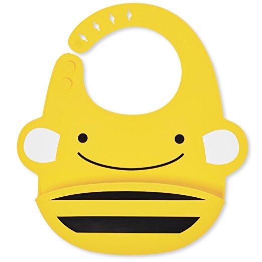 Силиконовый слюнявчик - ПчелаНагрудники<br>Силиконовый слюнявчик - Пчела<br>