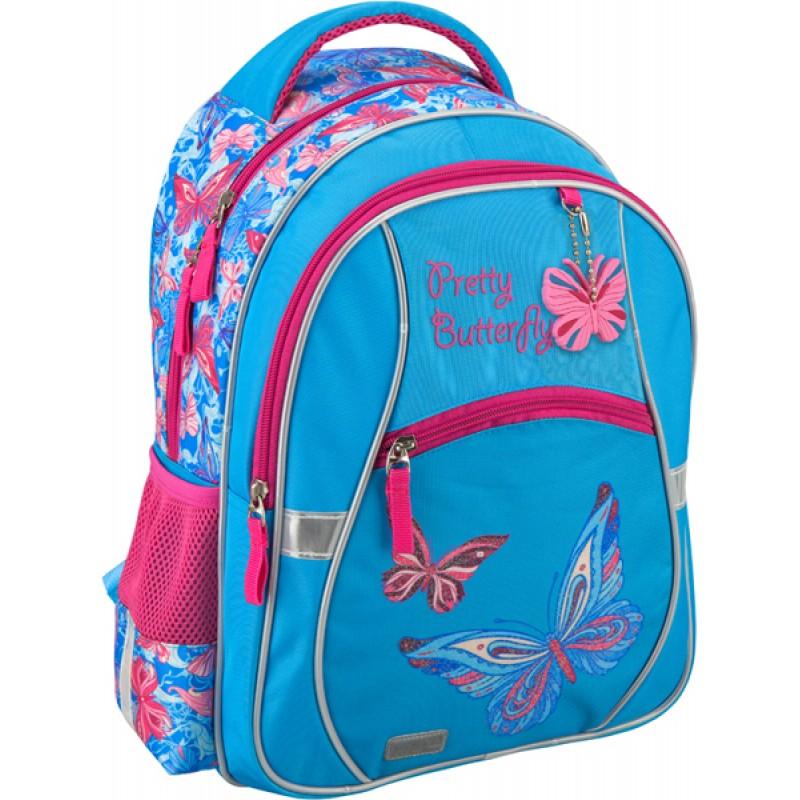 Рюкзак школьный 523 Pretty ButterflyШкольные рюкзаки<br>Рюкзак школьный 523 Pretty Butterfly<br>