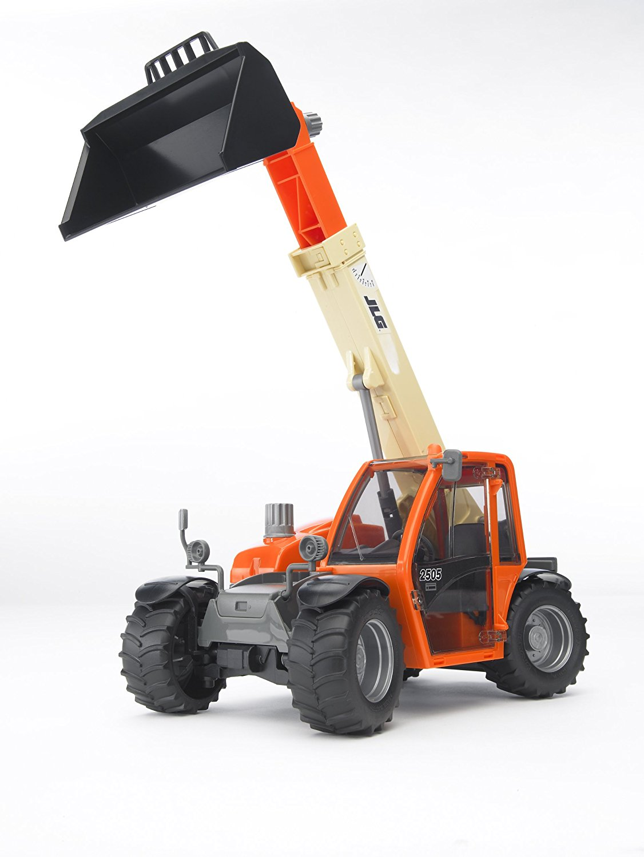 Машинка детская BRUDER BRUDER Погрузчик JLG 2505 Telehandler колёсный с телескопическим ковшом