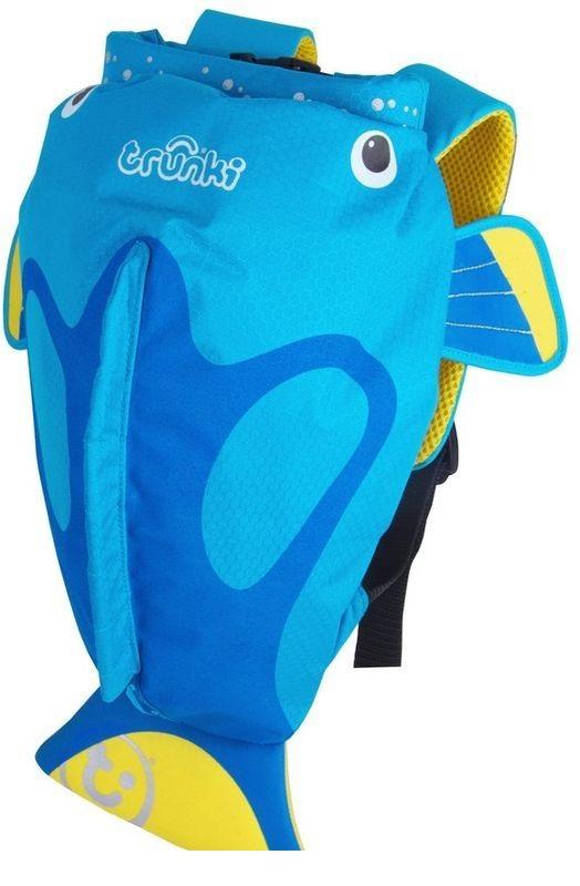 Рюкзак для бассейна и пляжа - Коралловая рыбка, голубой, Trunki  - купить со скидкой