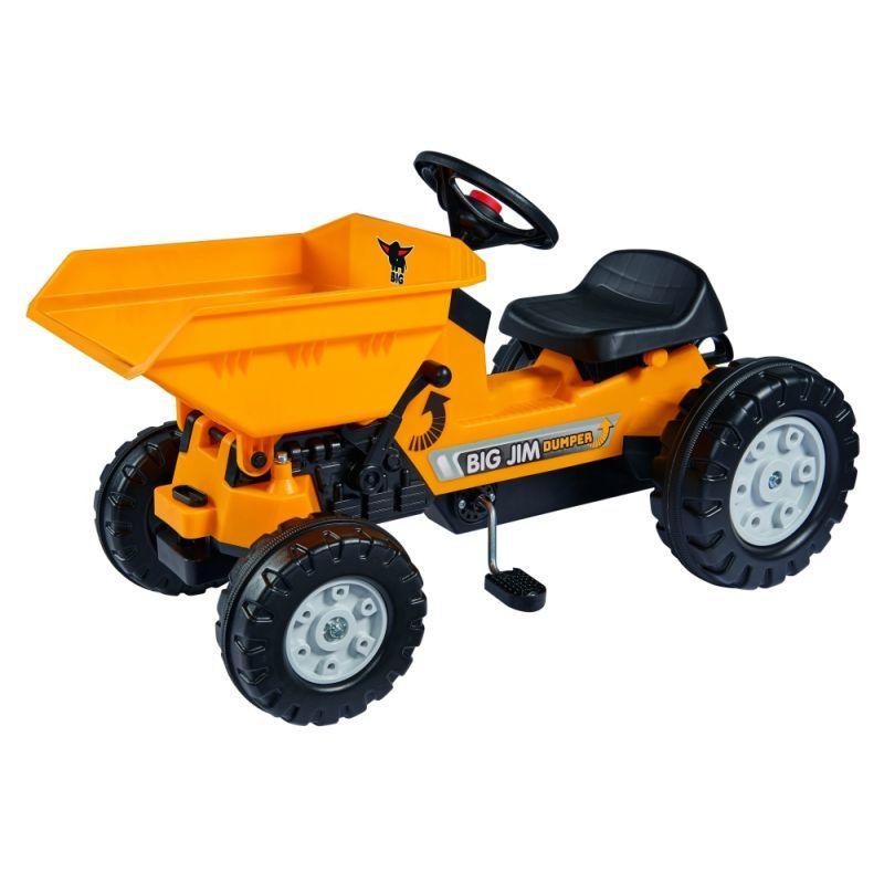 Детский педальный трактор самосвал