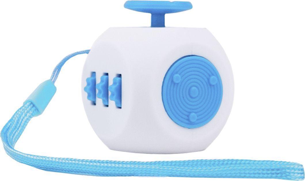 Игрушка антистресс FidgetCube 3.0 Air, бело-синийАнтистресс кубики Fidget Cube<br>Игрушка антистресс FidgetCube 3.0 Air, бело-синий<br>