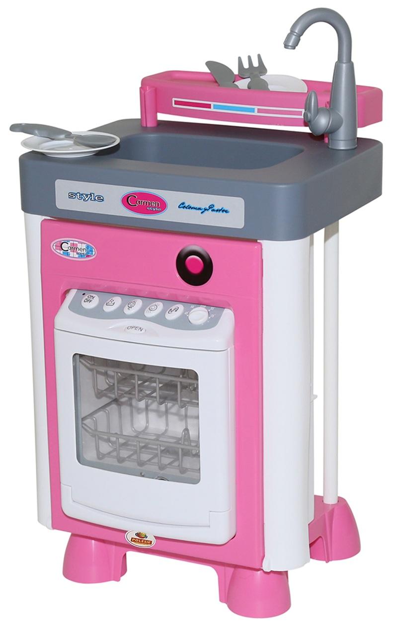 Игровая кухня Carmen №1 с посудомоечной машинойДетские игровые кухни<br>Игровая кухня Carmen №1 с посудомоечной машиной<br>