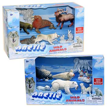 Арктические животные, с подвижными частями телаДикая природа (Wildlife)<br>Арктические животные, с подвижными частями тела<br>