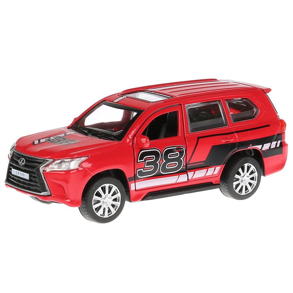 Купить Металлическая инерционная машина - Lexus LX-570 Спорт, длина 12 см, , Технопарк