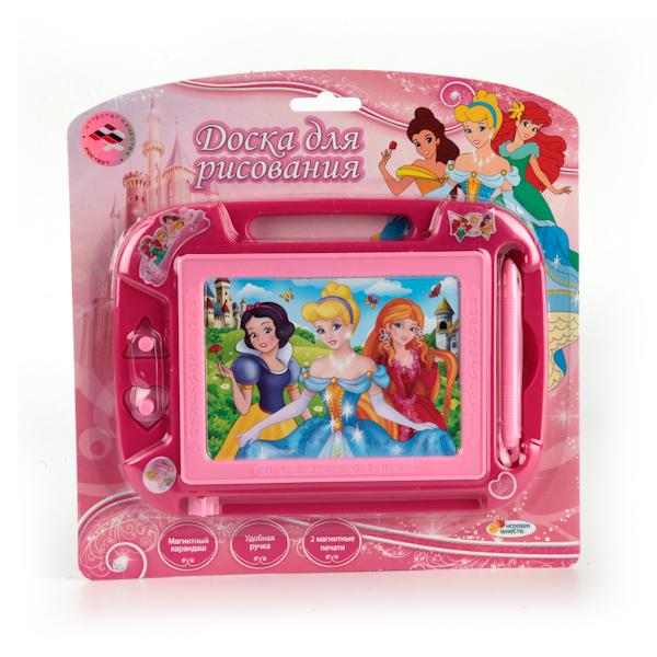 Магнитная доска для рисования - Принцессы, 2 печатиМольберты<br>Магнитная доска для рисования - Принцессы, 2 печати<br>
